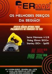 Serra Mármore 4-3/8 Poleg 115mm 1200w Stanley 220v - Spt115