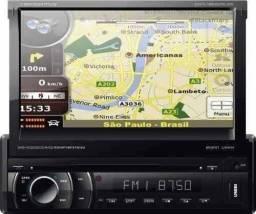 DVD AUTOMOTIVO NAPOLI TV GPS BT CONTROLE