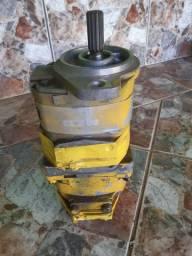Bomba hidraulica dupla komatzu