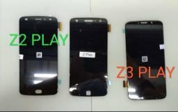 Consertamos Display Vidro Tonch Motorola Moto Z Play Moto Z2 Play Moto Z3 Play
