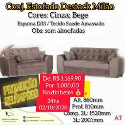 Grande promoção de sofas