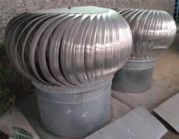 Exaustor eólico de 85x85 alt 80cm em alumínio ( unid) - falar no zap *