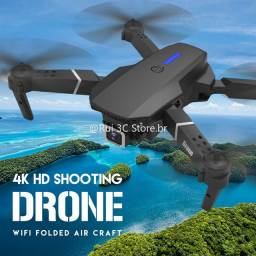 Drone câmera 4k excelente estabilidade e controle de voo
