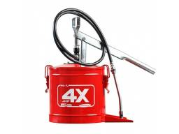 Bomba de graxa Manual 7kg HL-7 Vermelha