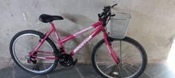 Título do anúncio: Bike rosa
