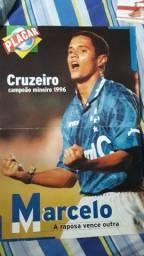 Pôster Placar Marcelo Ramos/Cruzeiro Campeão Mineiro 1996