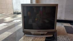 """TV Sony Trinitron 29"""" usada - Tela Semi Plana. ( Tubo)"""