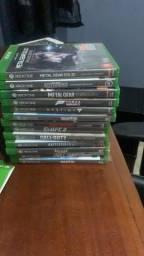 Vendo jogos do xbox one