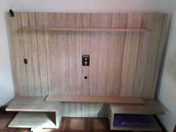 Painel de madeira conservado