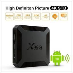 Tv Box X96q Android 10.0 Allwinner 2gb 16gb H313 Quad Core