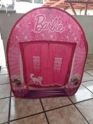 Barraca infantil barbie(faço o preço até 100)