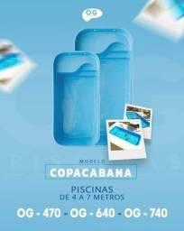 Título do anúncio: Piscinas de fibra Copacabana