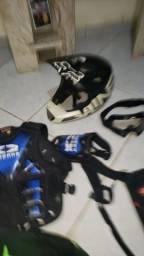 Equipamentos de trilha e Motocross