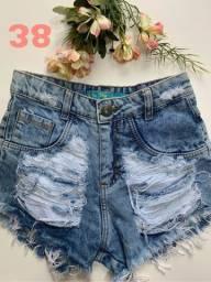 Short jeans novos