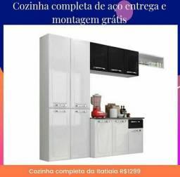 Linda cozinha completa  da Itatiaia  100% aço