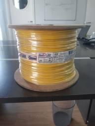 Bobina de Cabo flexível 1 x 4,0 mm QualyFlex amarelo