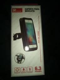 Suporte de celular para motoboy impermeável