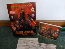 Para colecionadores - Jogo Duke Nukem 3D original Brasoft para PC