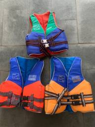 3 Coletes Salva-Vidas - Nautilus Luxo Infantil
