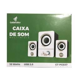 Caixa de som para computador Goldenultra PC-Ex7