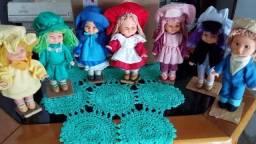 Bonecas festa tema