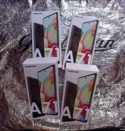 Samsung galaxy A71 LACRADO com nota fiscal 4GB RAM 128GB ARMAZENAMENTO QUATRO CÂMERAS