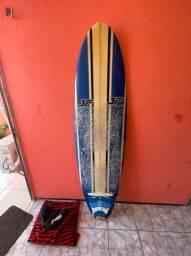Prancha Surf Funboard 6'6 Perfeita para iniciantes.
