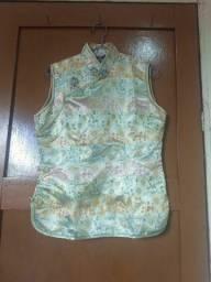 Blusa estilo chinesa