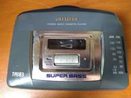 Aparelho Walkman Aiwa antigo oferta 100,00