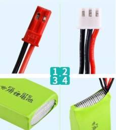 Bateria 7.4v 1500mah 8c 2s Li-ion Para Fs-gt5 2.4g 6 Ch Rc