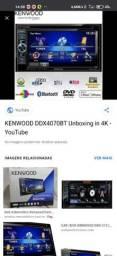 Central Multimídia Kenwood DDX4070BT
