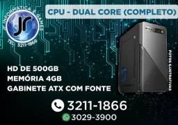 CPU - Dual Core - 1 ano de Garantia - Melhor Preço