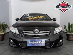 Toyota Corolla SE-G Automático - 1.8 Completo Flex - Blindado III-A - 2009