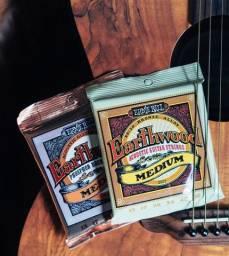 Encordoamento violão aço Ernie Ball Earthwood