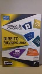 """Livro """" Direito previdenciário , 810 questões comentadas""""  397 p  (2019)"""