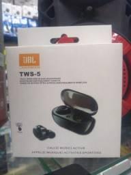 Fone de ouvido sem fio bluetooth jbl 5.0 tws-5