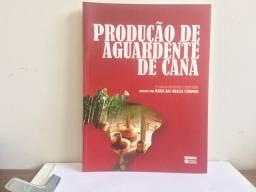 Livro Produção de aguardente de cana