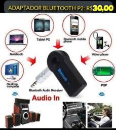Adaptador bluetooth áudio P2