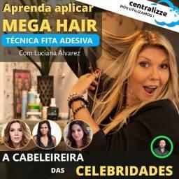 Curso Online de Aplicação de Mega Hair