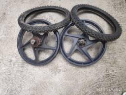 Rodas de bicicleta infantil