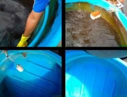 Limpeza de caixa d'água visita técnica sem cobrança