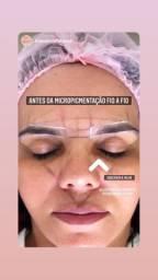 Micropigmentação de sobrancelhas fio a fio