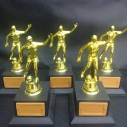 Troféu Melhor Jogador p/ Futebol Campo Futsal Beach Soccer Society Furingo Futevolei