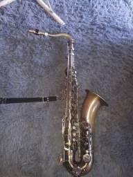Pra vender logo Sax tenor + boquilha de metal