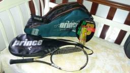 Bolsa+Raquete de Tenis + 3 bolas