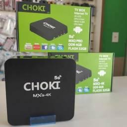 TV BOX CHOKI - MX9 + 1 MÊS DISNEY+