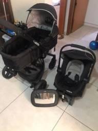 carrinho de bebe 360 graus kiddo c/ bebe conforto Tr. *