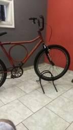 Bicicleta Barra circular desapego