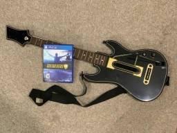 Guitar Hero Live PS4 + Guitarra + Alça + Dongle Receptor USB