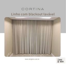 Título do anúncio: Linho com blackout lavável